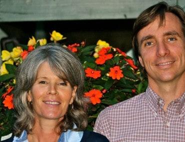 Liz Geran and Brendan Kelly
